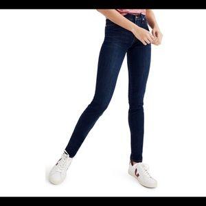 """Madewell 9"""" high-rise skinny jean 26"""